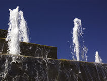 fontanna kaskadowa Zdjęcia Royalty Free