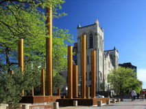 fontanna Minneapolis obraz royalty free
