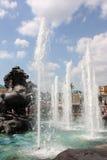 fontanna Moscow Russia Zdjęcia Stock