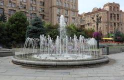 Fontanna na Khreshchatyk obraz stock