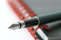 fontanna organizatora długopis. Obrazy Stock