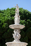 Fontanna Orion, piazza Di Duomo, Messina, Sicily, Włochy Obraz Royalty Free