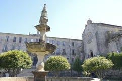 Fontanna przed klasztorem San Francis Fotografia Stock