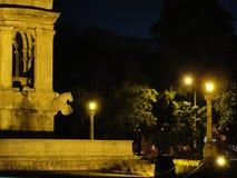 Fontanna przy Gwatemala miastem fotografia royalty free
