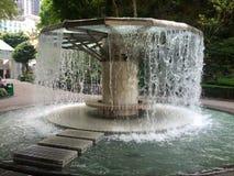 Fontanna przy Hong Kong parkiem Obraz Stock