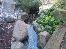 fontanna strumień Zdjęcie Royalty Free