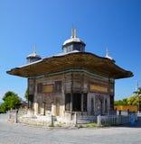 Fontanna sułtan Ahmed III, Istanbuł Zdjęcie Royalty Free