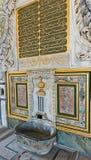 Fontanna sułtan Ahmed III w Istanbuł Fotografia Royalty Free