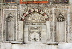 Fontanna sułtan Ahmed III, Obraz Stock