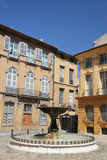 Fontanna w Aix en Provence Obrazy Stock