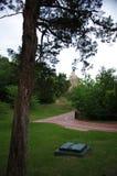 Fontanna w Gorących wiosnach, Arkansas obrazy royalty free