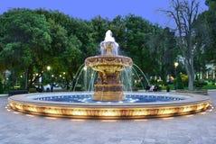 Fontanna w klasycznym stylu zdjęcia royalty free