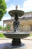 Fontanna w Królewskim ogródzie Obraz Stock