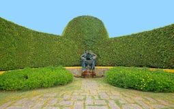 Fontanna w Krystalicznego pałac ogródach Porto Zdjęcia Stock