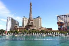 Fontanna w Las Vegas Fotografia Stock