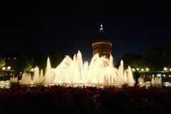 Fontanna w Mannheim, Niemcy - Zdjęcia Royalty Free