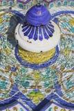 Fontanna w Maria Luisa parku, Seville Obrazy Royalty Free