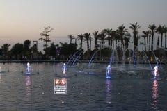 Fontanna w operze, Kuwejt zdjęcia royalty free