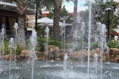 Fontanna w Orlando Floryda Obraz Royalty Free