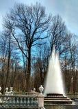 Fontanna w parku Zdjęcia Royalty Free