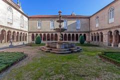 Fontanna w przyklasztornym S Bento monaster zdjęcie stock
