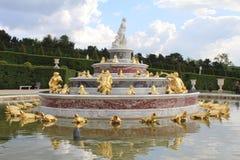 Fontanna w Versailles Zdjęcia Stock