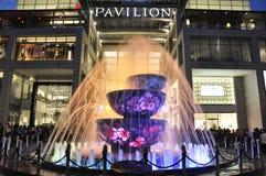 fontanna wymieniająca Zdjęcie Royalty Free
