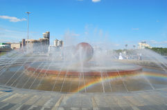 fontanna Yekaterinburg Obraz Stock