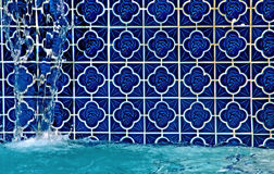 fontanny basenu dopłynięcie Obraz Stock