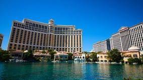 Fontanny Bellagio w Las Vegas fotografia stock