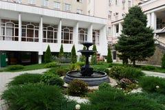 Fontanny Bolshaya Sadovaya uliczna ulica w Don Obraz Royalty Free