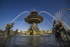 fontanny France Paris morza Fotografia Stock