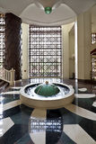 fontanny hotelu lobby Zdjęcie Stock