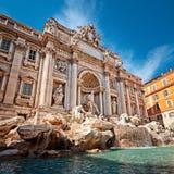 fontanny Italy Rome trevi Obrazy Royalty Free