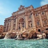 fontanny Italy Rome trevi Zdjęcia Stock