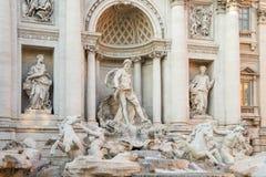 fontanny Italy Rome trevi Fotografia Royalty Free