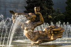 Fontanny muza, opera i Baletniczy teatr, fotografia royalty free