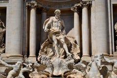 fontanny Neptune trevi Fotografia Stock
