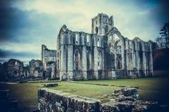 Fontanny opactwa ruiny, Ripon UK Fotografia Royalty Free