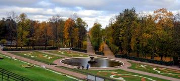 Fontanny Peterhof, Rosja Fotografia Royalty Free