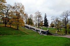 Fontanny Peterhof, Rosja Obraz Royalty Free