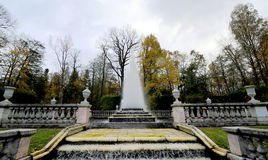 Fontanny Peterhof, Rosja Zdjęcie Stock