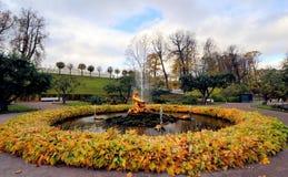 Fontanny Peterhof, Rosja Zdjęcie Royalty Free