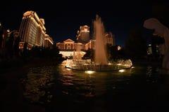 Fontanny przy Bellagio hotelem, Las Vegas, Nevada, usa Kwiecień, 2016 Obraz Stock
