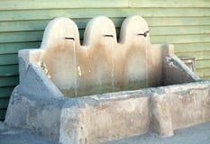 fontanny spout trzy fotografia stock