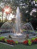 fontanny wody Obraz Royalty Free