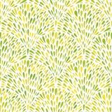 Fontanny Zielonych kropel Bezszwowy tło Obrazy Stock