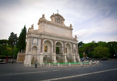 Fontanone. Fontana dell'Acqua Paola, also known as Il Fontanone. Rome, Italy Royalty Free Stock Images