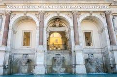 Fontanone dell'Acqua Paola罗马意大利 免版税图库摄影