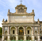 Fontanone in Rome. The Fontana dell'Acqua Paola is a monumental fountain located on the Janiculum Hill in Rome, Italy Royalty Free Stock Image